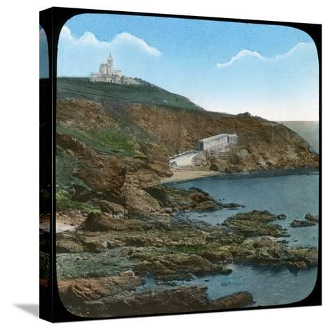 The Lizard Lighthouse, Cornwall, Late 19th or Early 20th Century--Stretched Canvas Print