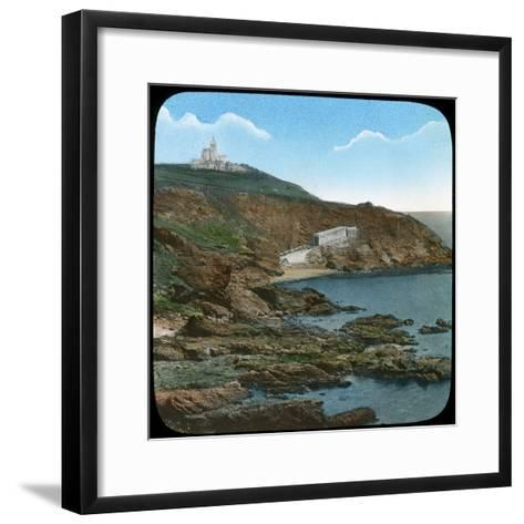 The Lizard Lighthouse, Cornwall, Late 19th or Early 20th Century--Framed Art Print