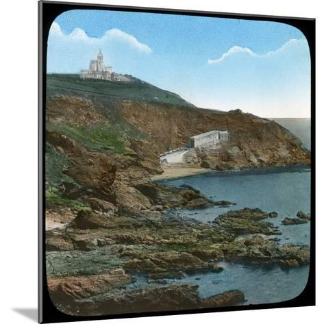 The Lizard Lighthouse, Cornwall, Late 19th or Early 20th Century--Mounted Giclee Print