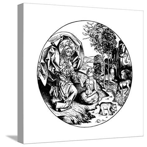 The Sixth Day of Creation, 1493--Stretched Canvas Print