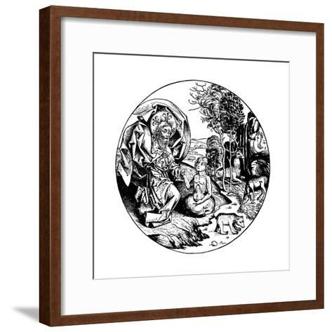 The Sixth Day of Creation, 1493--Framed Art Print