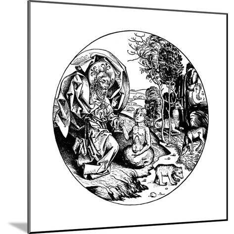 The Sixth Day of Creation, 1493--Mounted Giclee Print