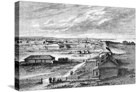 Blagovyeshchensk, Siberia, Russia, 1895--Stretched Canvas Print