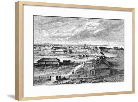 Blagovyeshchensk, Siberia, Russia, 1895--Framed Art Print