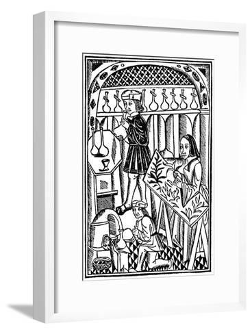 Illustration from Le Proprietaire Des Choses, 1500--Framed Art Print