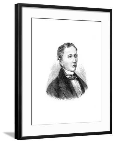 Isaac Pitman, 19th Century British Inventor of a System of Shorthand Writing, 1900--Framed Art Print