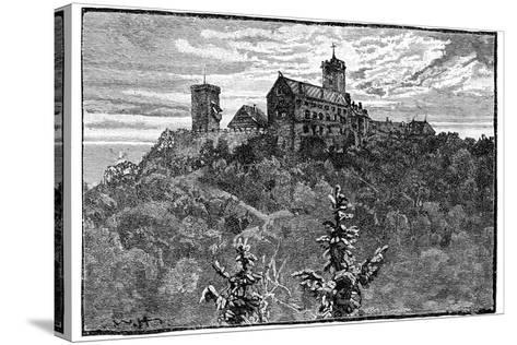 The Castle of Wartburg, 1900--Stretched Canvas Print