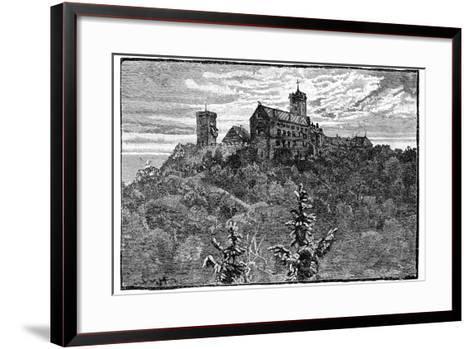 The Castle of Wartburg, 1900--Framed Art Print