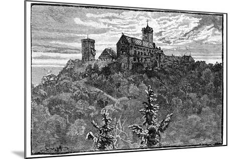 The Castle of Wartburg, 1900--Mounted Giclee Print