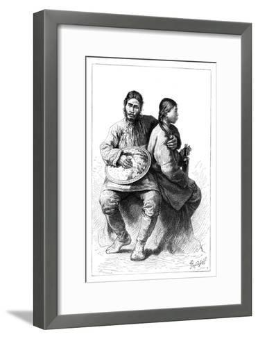 Portrait of a Gold (Nana) Couple, 1895--Framed Art Print