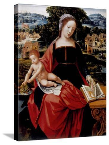 Virgin and Child, 16th Century--Stretched Canvas Print
