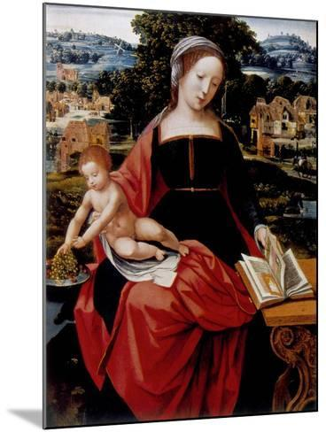 Virgin and Child, 16th Century--Mounted Giclee Print