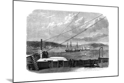 The Atlantic Telegraph Expedition, Content Bay, Newfoundland, 1866--Mounted Giclee Print