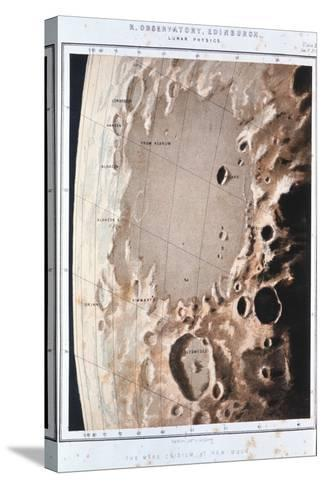 Part of the Lunar Surface, 1857--Stretched Canvas Print