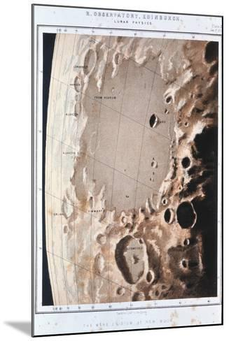 Part of the Lunar Surface, 1857--Mounted Giclee Print