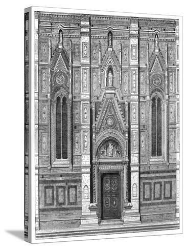 The Canonical Gate of the Basilica of Santa Maria Del Fiore, Florence, Italy, 1882--Stretched Canvas Print