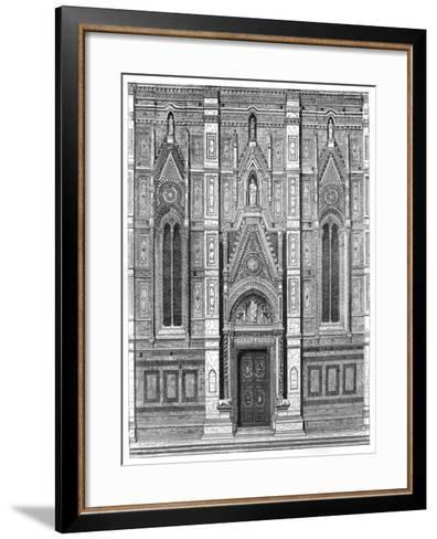 The Canonical Gate of the Basilica of Santa Maria Del Fiore, Florence, Italy, 1882--Framed Art Print