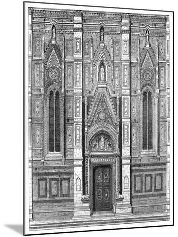 The Canonical Gate of the Basilica of Santa Maria Del Fiore, Florence, Italy, 1882--Mounted Giclee Print