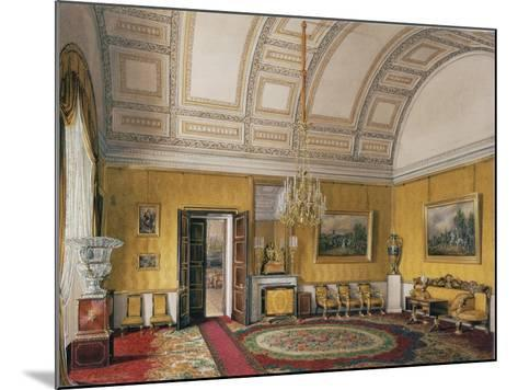 Interiors of the Winter Palace, the First Reserved Apartment, 1866-Eduard Hau-Mounted Giclee Print