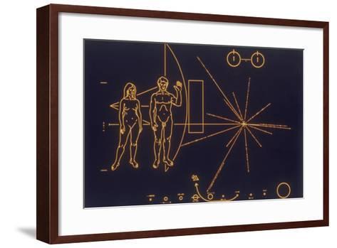 A Universal Message of Friendship, 1977--Framed Art Print