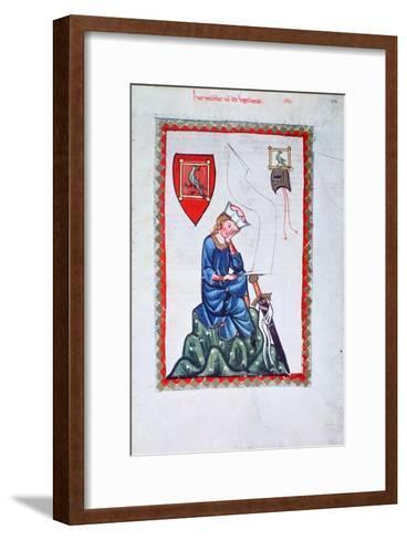 Walther Von Der Vogelweide, 1304-1340--Framed Art Print