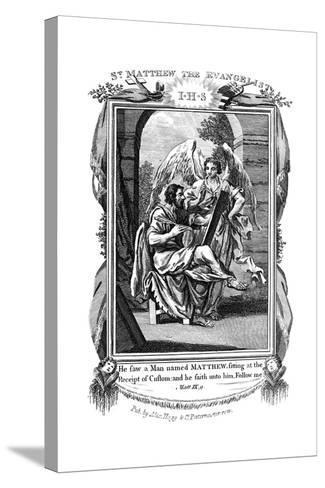 St Matthew the Evangelist, C1808--Stretched Canvas Print