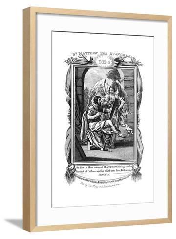 St Matthew the Evangelist, C1808--Framed Art Print