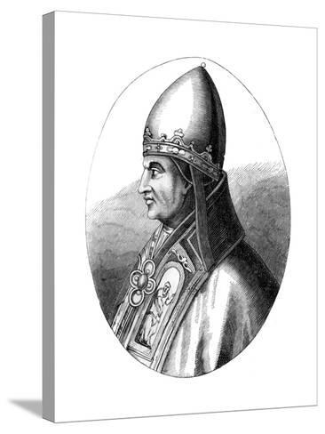 Pope Gregory IX (C1143-124), 1849--Stretched Canvas Print