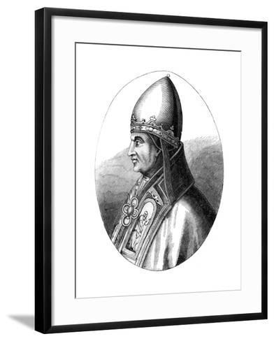 Pope Gregory IX (C1143-124), 1849--Framed Art Print