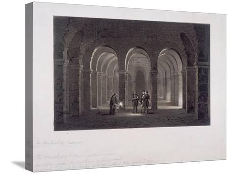 St Paul's Cathedral, London, 1852-SW Calvert-Stretched Canvas Print