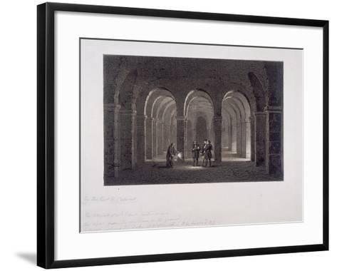 St Paul's Cathedral, London, 1852-SW Calvert-Framed Art Print