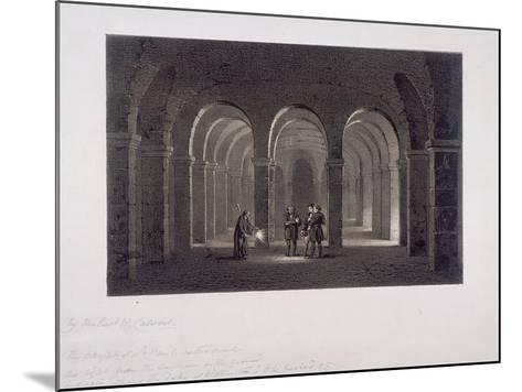 St Paul's Cathedral, London, 1852-SW Calvert-Mounted Giclee Print