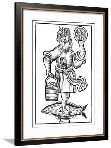 Representation of Crodon, 1656--Framed Art Print