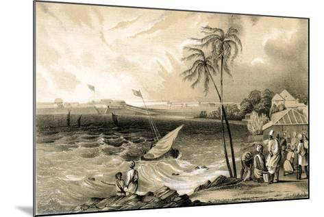Setting in of the Monsoon, Cannanore Fort, 1847-TJ Rawlins-Mounted Giclee Print