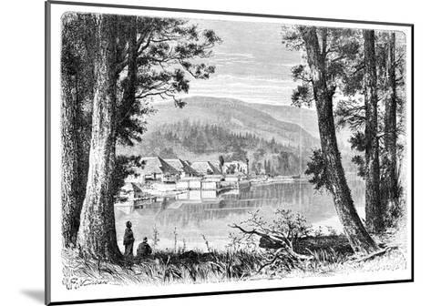 Lake Hakone, C1890--Mounted Giclee Print