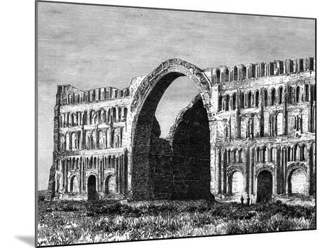 The Taq-I Kisra, Ctesiphon, Iraq, 19th Century--Mounted Giclee Print