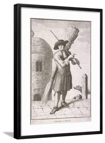 Chairs to Mend, Cries of London, C1750--Framed Art Print