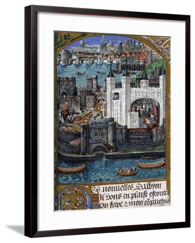 London, 1500--Framed Art Print