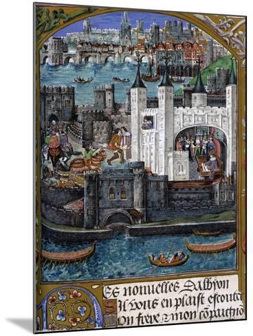 London, 1500--Mounted Giclee Print