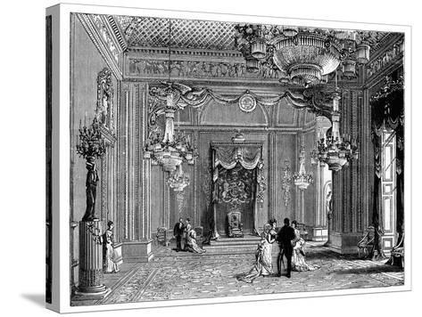 The Throne Room, Buckingham Palace, 1900--Stretched Canvas Print