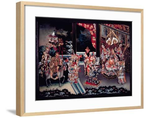 Unidentified Marital Scene, C1800-C1850--Framed Art Print