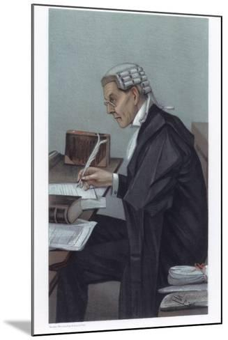 A Radical Lawyer, 1902-Spy-Mounted Giclee Print