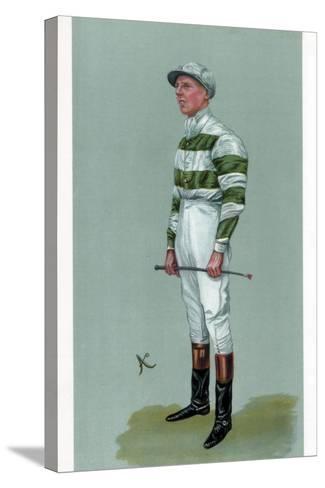 John Evelyn Watts, British Jockey, 1903--Stretched Canvas Print
