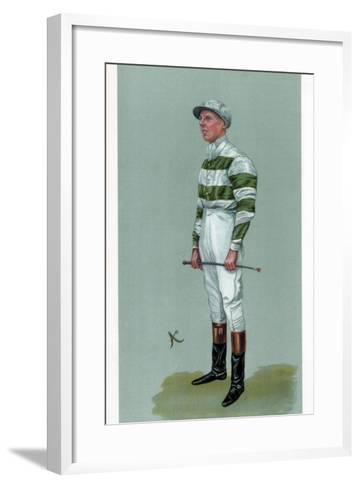 John Evelyn Watts, British Jockey, 1903--Framed Art Print