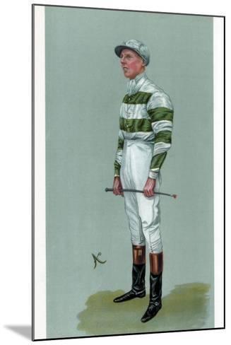 John Evelyn Watts, British Jockey, 1903--Mounted Giclee Print