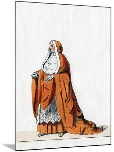 Cardinal Wolsey, Costume Design for Shakespeare's Play, Henry VIII, 19th Century--Mounted Giclee Print
