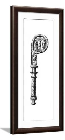 Bishop's Crozier, Cathedral of Metz, 14th Century--Framed Art Print