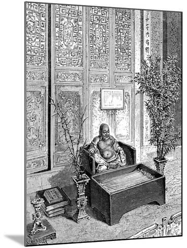 Domestic Altar, the Smiling Buddha, C1890--Mounted Giclee Print