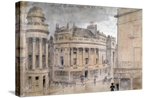 The Argyll Rooms, Little Argyll Street, Westminster, London, C1830--Stretched Canvas Print