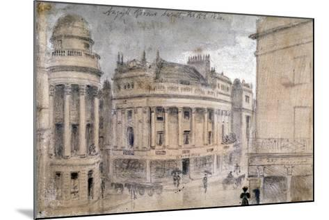 The Argyll Rooms, Little Argyll Street, Westminster, London, C1830--Mounted Giclee Print